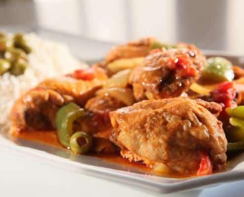 Spanish-Chicken-with-Spicy-Lemon-Rice