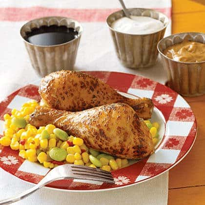 Easy Broiled Drumsticks