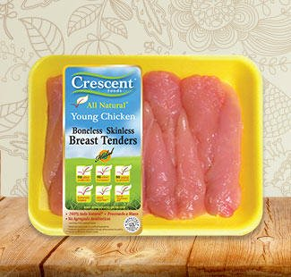Crescent boneless skinless tender breast
