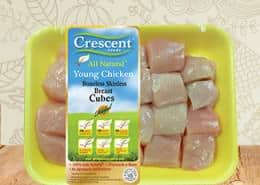 Crescent boneless-cubes
