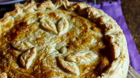 Scrumptious Chicken Pie