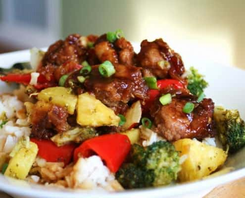 Pineapple Chicken Teryaki
