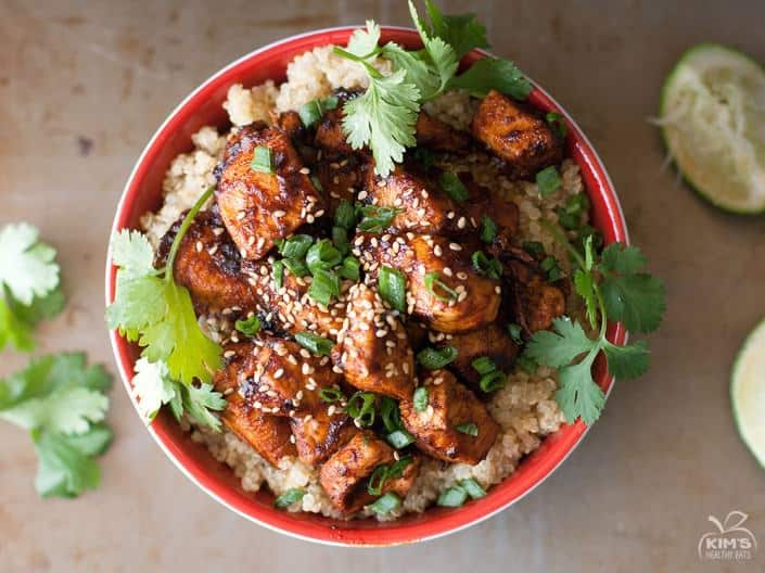 Sriracha-Chicken-Quinoa-Bowl