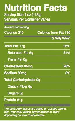 whole-fryer-nutrition